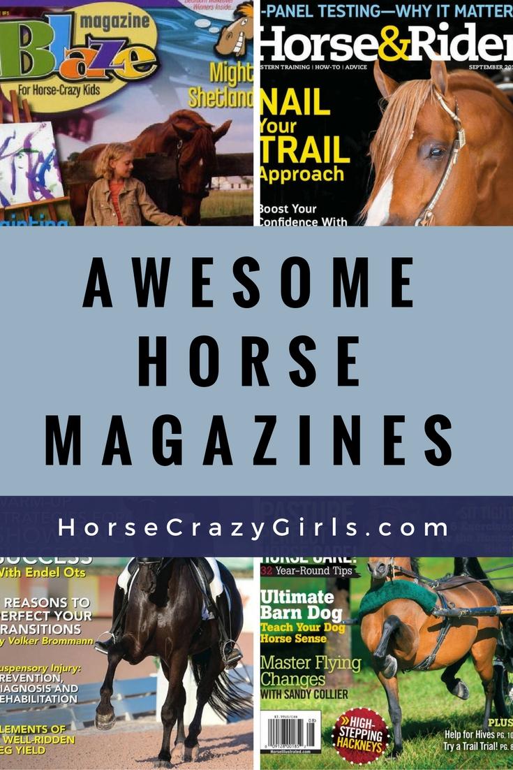 Awesome horse magazines!