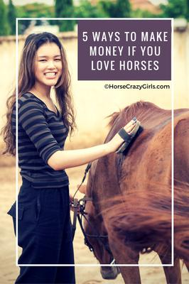 5 Ways To Make Money If You Love Horses