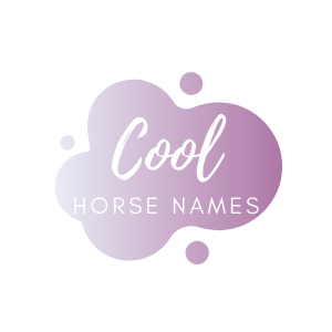 Graphic that says cool horse names.