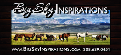 Big Sky Inspiration Greeting Cards