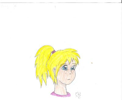 Manga Self Portrait