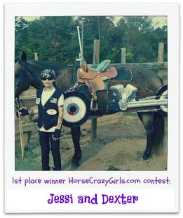 1st place winner HorseCrazyGirls.com 2012 contest