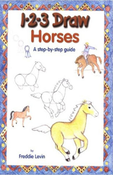 1-2-3 Draw Horses by Freddie Levin