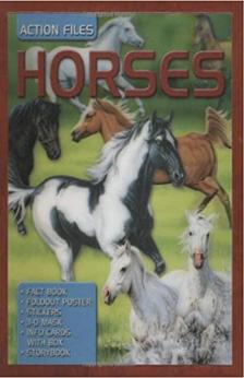 Action Files: Horses by Camilla de la Bedoyere