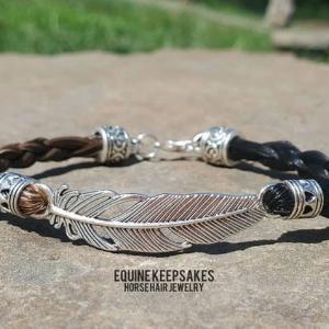 Custom Horse Hair Bracelet Keepsake for horse owners