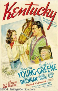 A picture of the movie Kentucky 1938.