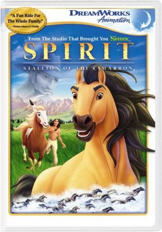 A picture of the movie Spirit: Stallion of the Cimarron.