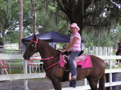Me and My horse in Pink