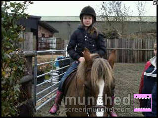 Me riding Copper