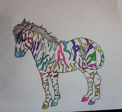 In a Zebra's Coat