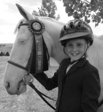 My pony and me at the Districts horse Show!