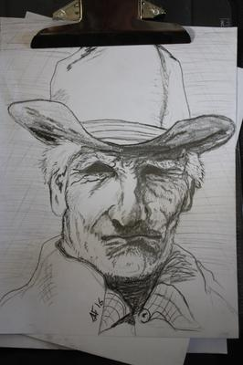 A Cowboy drawing (12/3/2016)