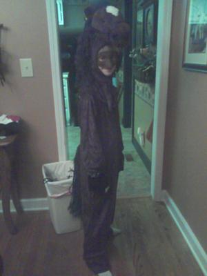 Me in my horse costume