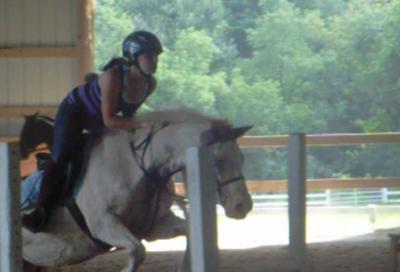 me riding my pony, Jiggers