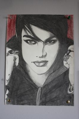 Adam Lambert drawing
