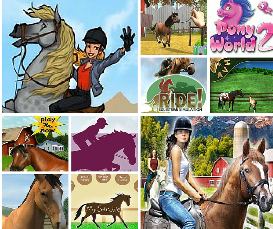 Online horse games