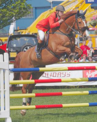 Hi im 14 years old and this is me and my beautiful horse competing in sydey for the showjumping classic. I was the youngest rider there and i won it. that is my fav moment ever..