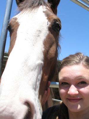 me and duke! I wish I could upload even more pictures!