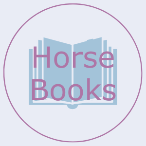 Button that says horse books. This links to the horse books page.