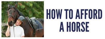How to afford a horse