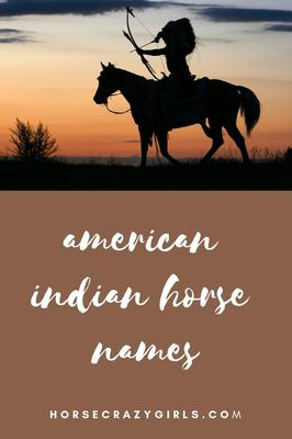 American Indian Horse Names