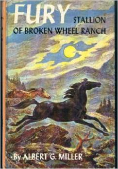Fury: Stallion of Broken Wheel Ranch by A.G. Miller