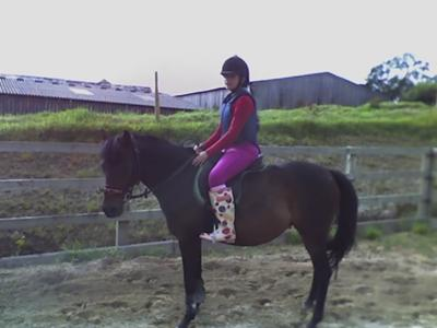 me and my horse Lillie