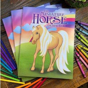Children's Miniature Horse Coloring Book