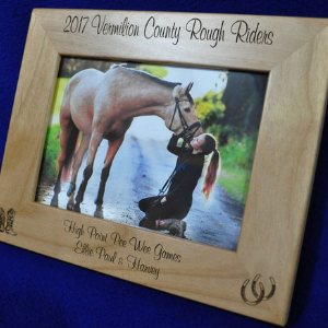 Personalized Horse Frame gift for equestrians